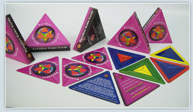 Triangle Shape Playing Cards